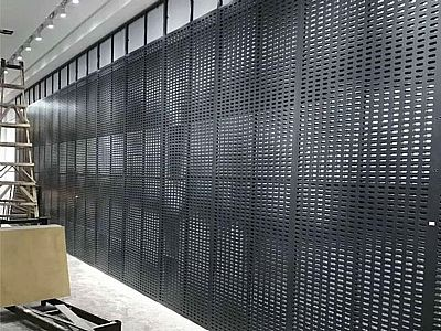 瓷砖冲孔板展架