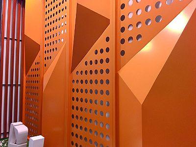 幕墙装饰冲孔板