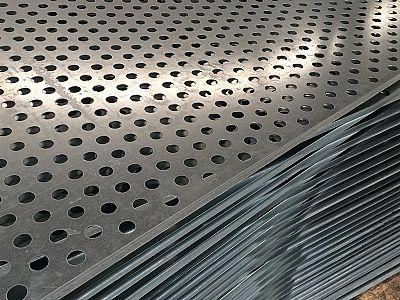 超薄不锈钢板冲孔网之间的点焊工艺